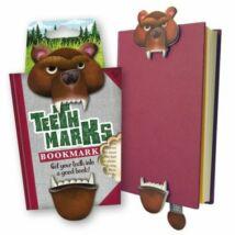 Harapós könyvjelző medve
