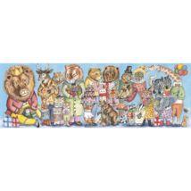 Művész puzzle - Királyi szülinap, 100 db-os