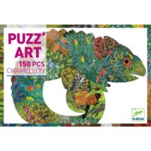 Művész puzzle - Kaméleon, 150 db-os