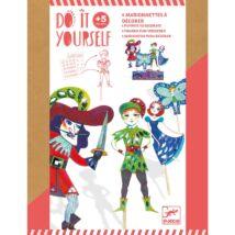 DIY - Csináld magad! - Pálcás báb figurák - Peter Pan