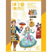 DIY - Csináld magad! - Pálcás báb figurák - Cinderella