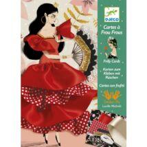 Varrás és díszítés - Táncosnő - Flamenco