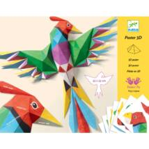 Origami - 3D poster - Amazonie