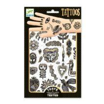 Tetoválás - Golden chic