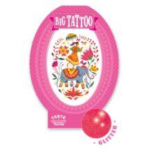 Tetováló matricák - Rose India