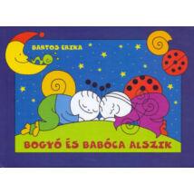 Bogyó és Babóca alszik