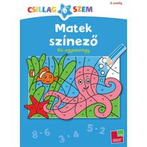 Matek színező - Kis egyszeregy