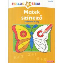 Matek színező - Számolás 10-ig