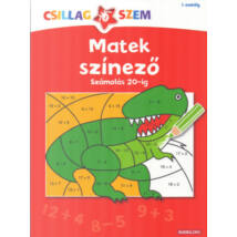 Matek színező - Számolás 20-ig - Csillagszem 1. osztály