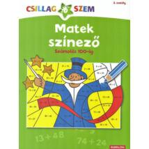 Matek Színező - Számolás 100-ig - Csillagszem 2. osztály