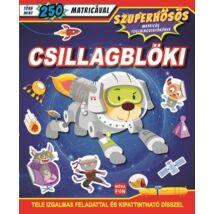 Csillagblöki - Szuperhősös matricás foglalkoztatókönyv