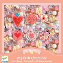Gyöngyfűző készlet - Szívek - Hearts