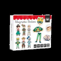 Mágneses kirakó - A világ hősei