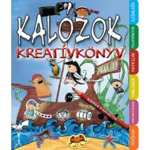 Kreatívkönyv - Kalózok