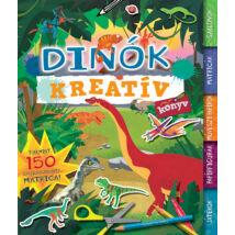 Kreatívkönyv - Dínók