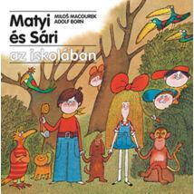 Matyi és Sári az iskolában