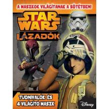 Star Wars - Lázadók - Foglalkoztató  - Sötétben világító maszkkal (SW008M)