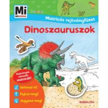 Mi micsoda junior - Dinoszauruszok - Matricás rejtvényfüzet