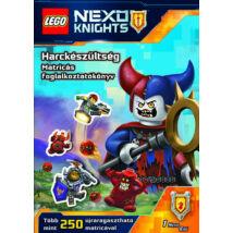 LEGO Nexo/Harckészültség/Matricás fogl