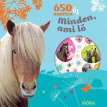 650 új matrica - Minden, ami ló