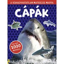 Cápák - a kihagyhatatlan matricás mappa