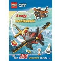 LEGO CITY - A nagy mentőakció (foglalkoztató)