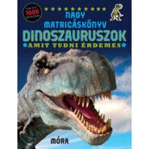 Nagy matricáskönyv - Dinoszauruszok