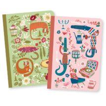 Jegyzetfüzet A/6 x 2 db - Asa little notebooks