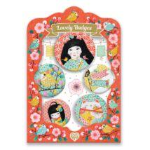 Kitűzők - Japán - Lovely Badges