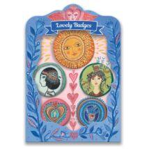 Kitűzők - Lucky Lovely Badges