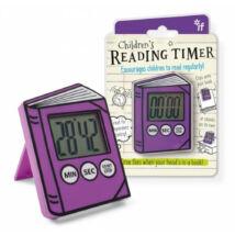Olvasás időzítő, időmérő, lila - Reading Timer