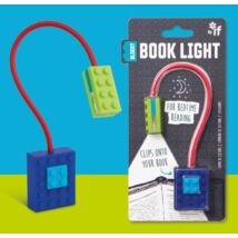 Könyvlámpa - Kék, csiptetős - Blocky Book Light