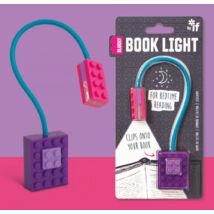 Könyvlámpa - Lila, csiptetős - Blocky Book Light