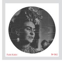 PICaROUND színező - Frida Kahlo