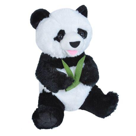 Plüss Panda Bambusszal