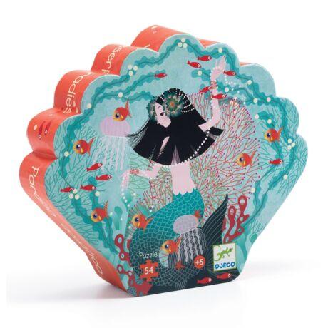 Formadobozos puzzle - Gyöngyhalász lány, 54 db-os