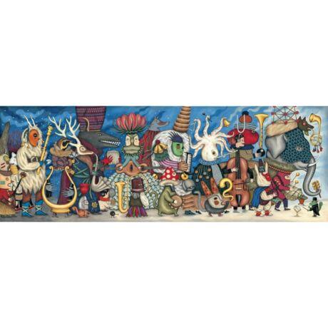 Művész puzzle - Fantasztikus zenekar, 500 db-os