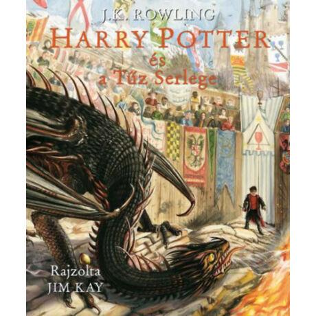 Harry Potter és a Tűz Serlege - illusztrált