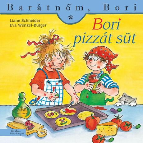 Barátnőm, Bori: Bori pizzát süt