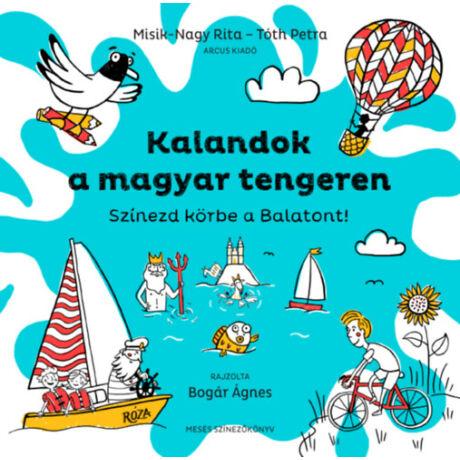 Kalandok a magyar tengeren - Színezd körbe a Balatont!
