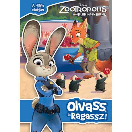 Zootropolis - Olvass és ragassz (SAS)