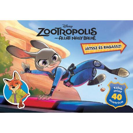 Zootropolis - Játssz és ragassz (DMP)