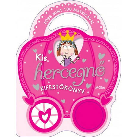 Kis hercegnő kifestőkönyv/több mint 100