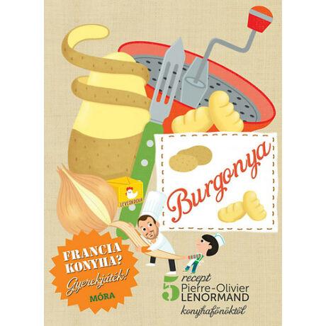 Burgonya -szakácskönyv gyerekeknek