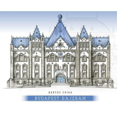 Budapest rajzban - Bartos Erika