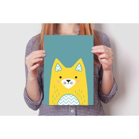 Falikép - Lujzi, a cica (2 db)