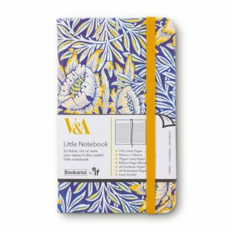 Bookaroo jegyzetfüzet (A6) - Morris Tulip & Willow